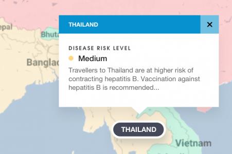 Interactive Travel Map